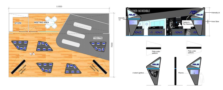 ASUS CAD Plan