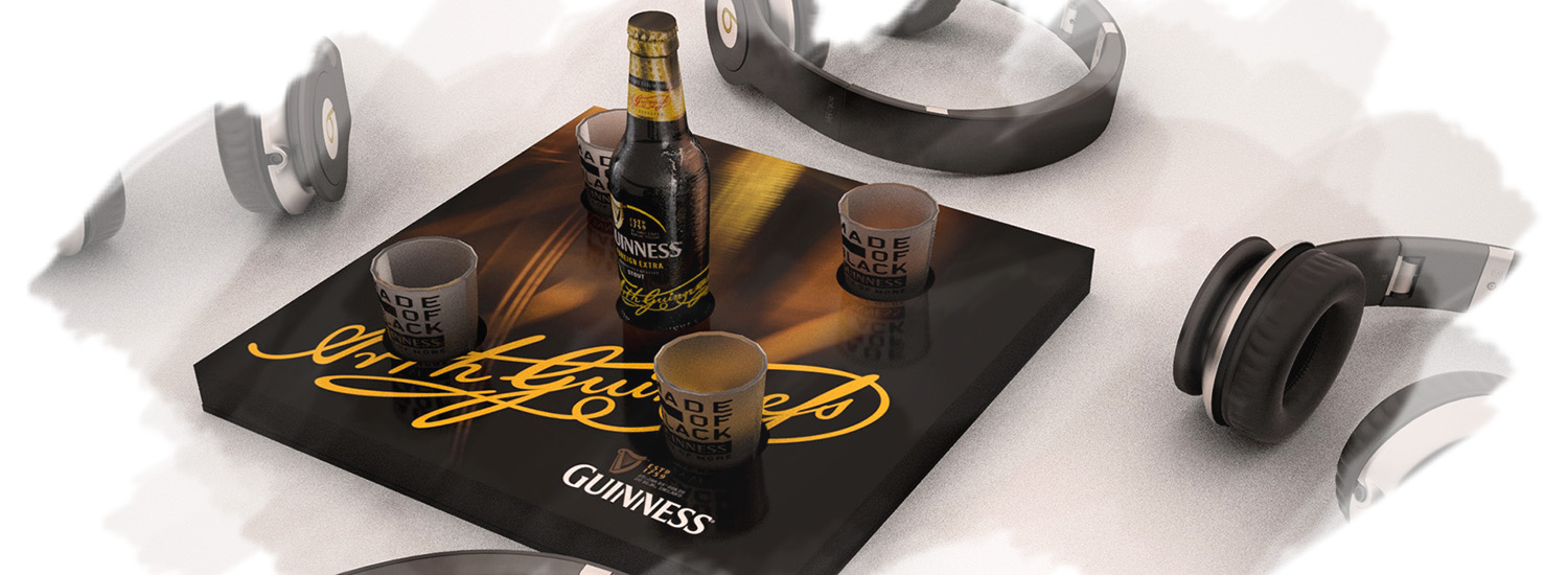 Guinness Product Visualisation