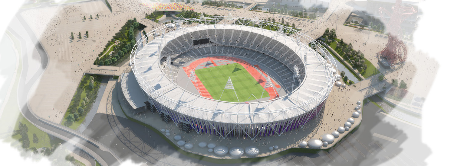 London Olympics 2012 3D Visualisation