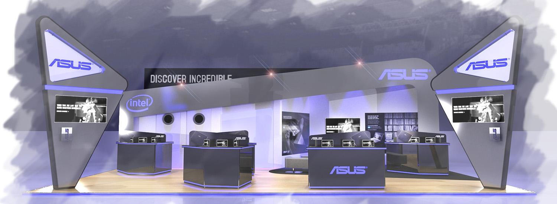 ASUS Exhibition Design